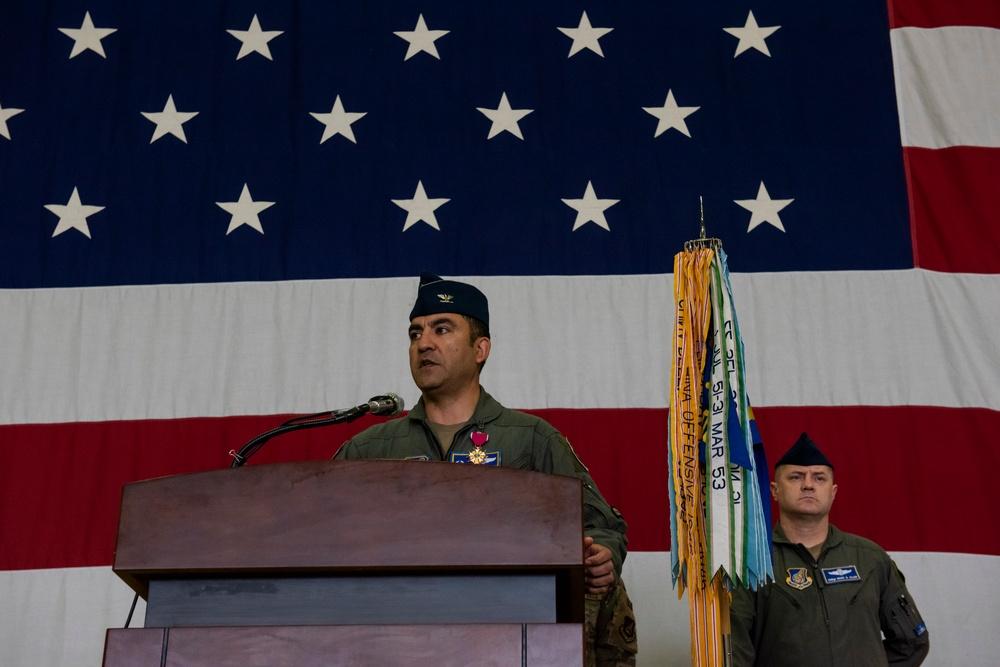 51st OG change of command