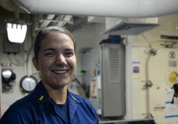 Faces of Hamilton: Ensign Alexandra Lombardi
