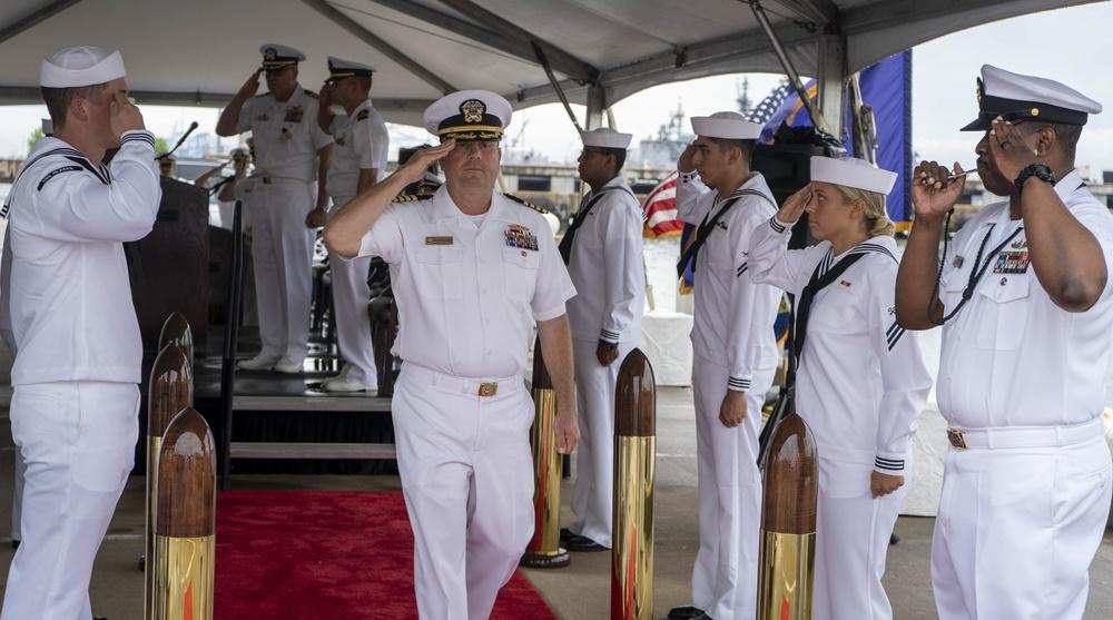 DESRON 26 Holds Change of Command Ceremony