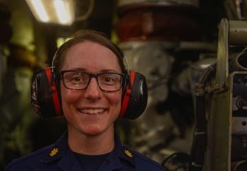 Faces of Hamilton: Lt. Cmdr. Tanya Cuprak