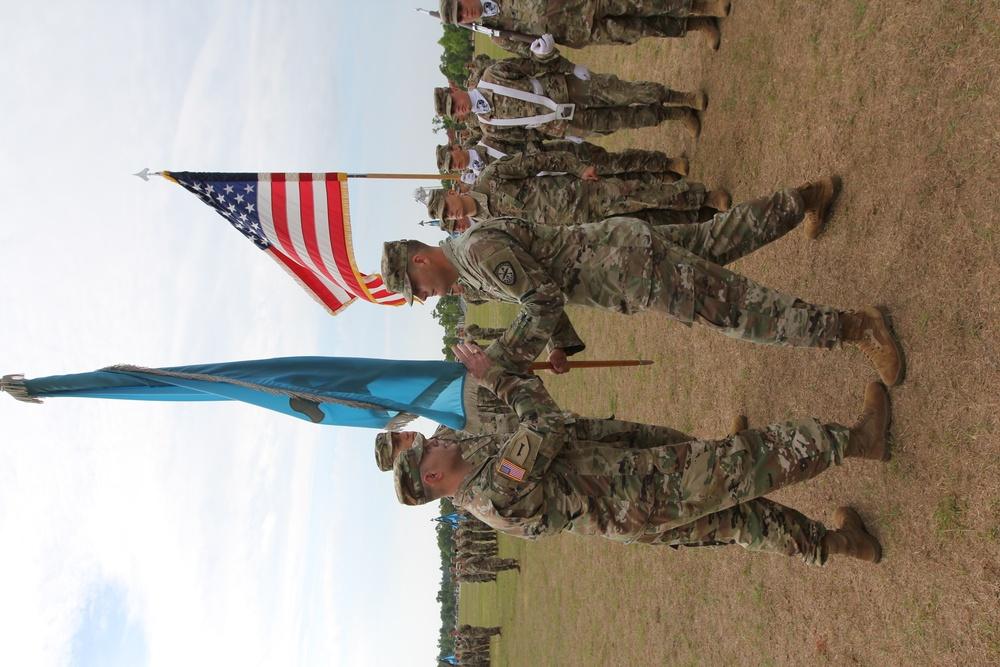 LTC Sanders relinquishes command of the 782d MI BN