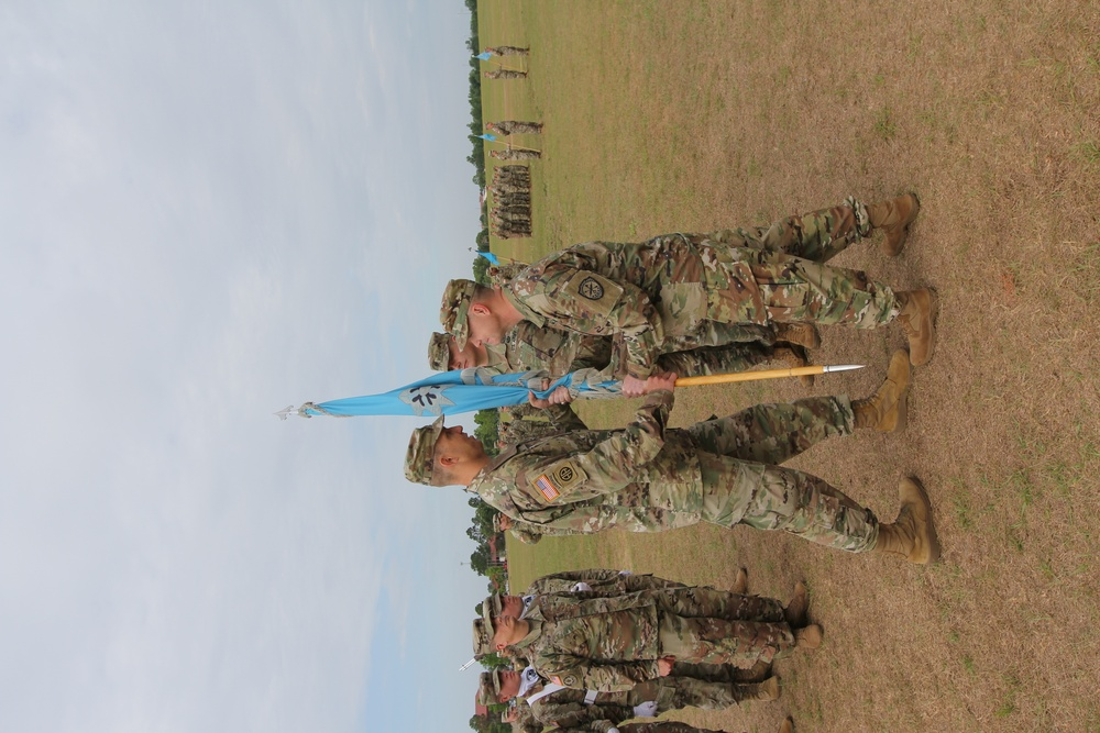 LTC Nelson assumes command of the 782d MI BN