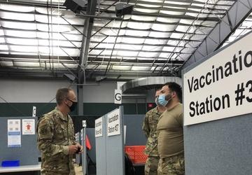 Brig. Gen. McCaughey visits the New Jersey Institute of Technology CVC