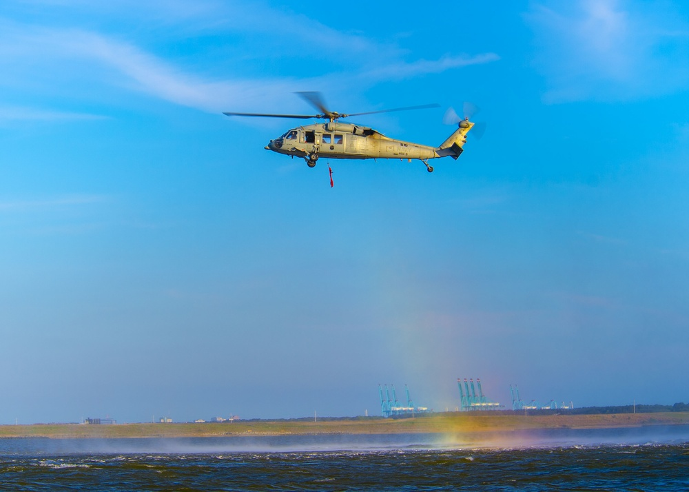 Sailors Participate in Search and Rescue Training