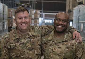 Like father, like son: 110th Wing member prepares for deployment