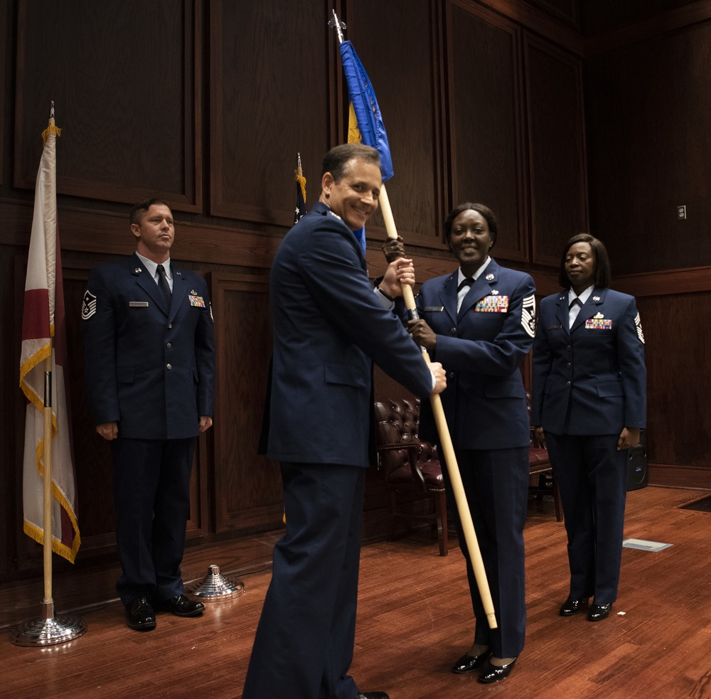 187th Command Chief Change Of Authority