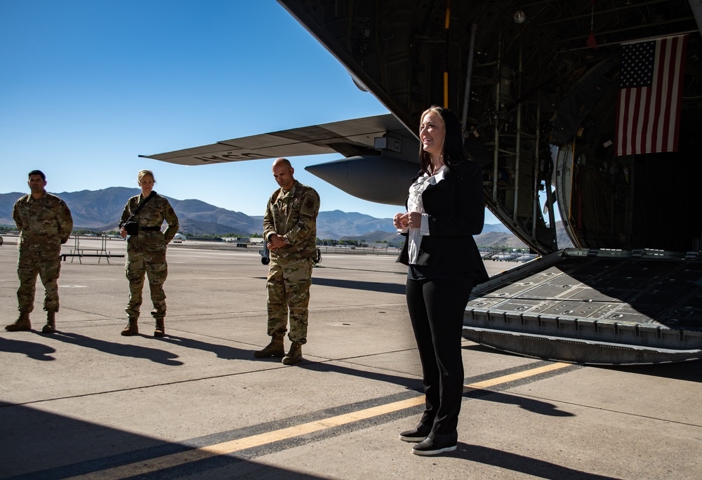 152nd Maintenance Squadron Swears in Newest Honorary Commander