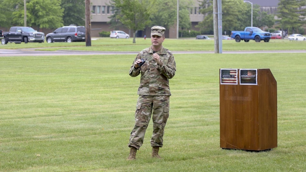 1AE and 4th Cav Bde Memorial Day Remembrance
