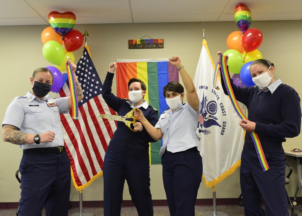 Promoting Pride: Coast Guard Alaska affinity group advocates for inclusivity in the 49th state