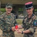 2d MARDIV CG visits French Forces