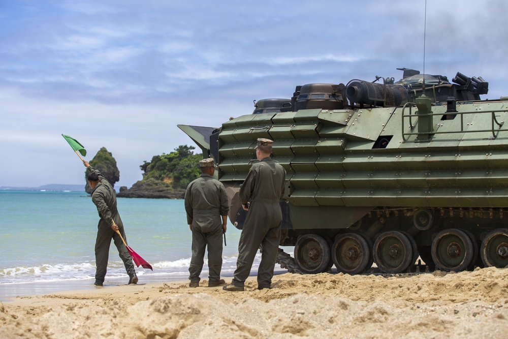 AAV return to water operations