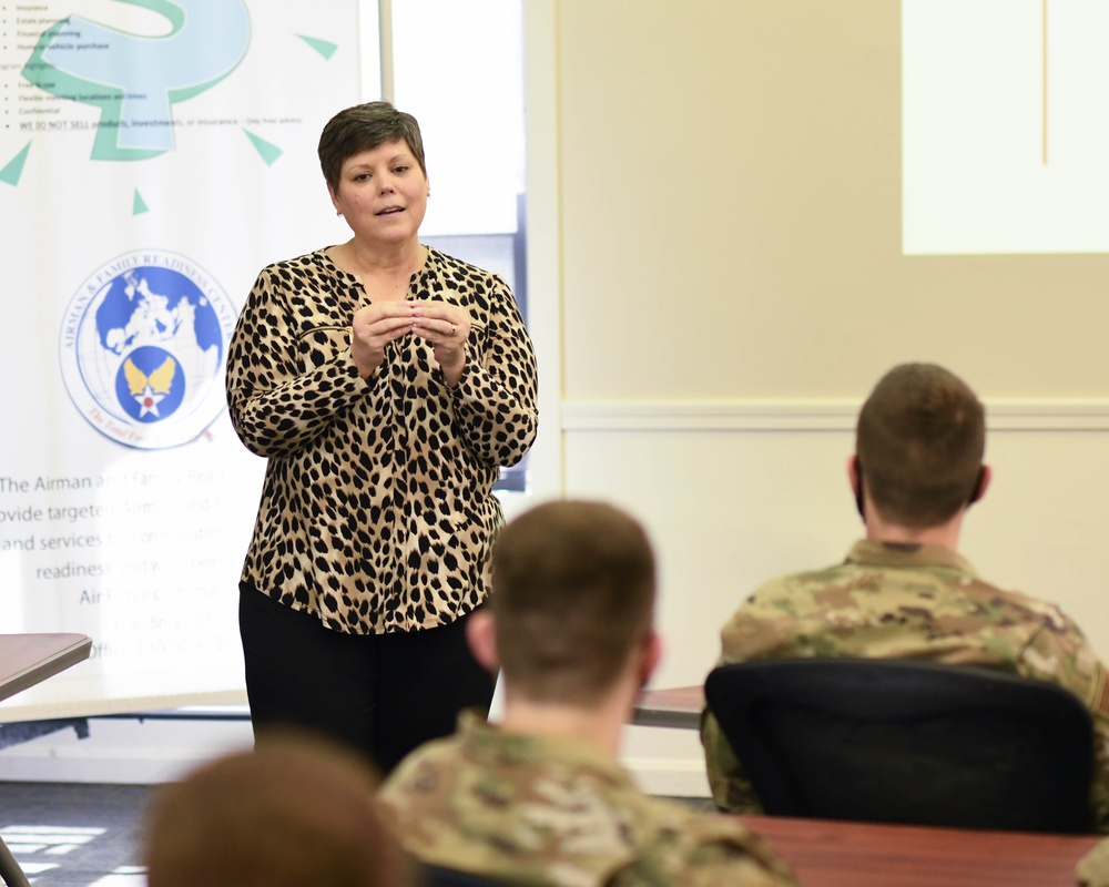 April's Lunch and Learn tackles workplace appreciation for Airman retention