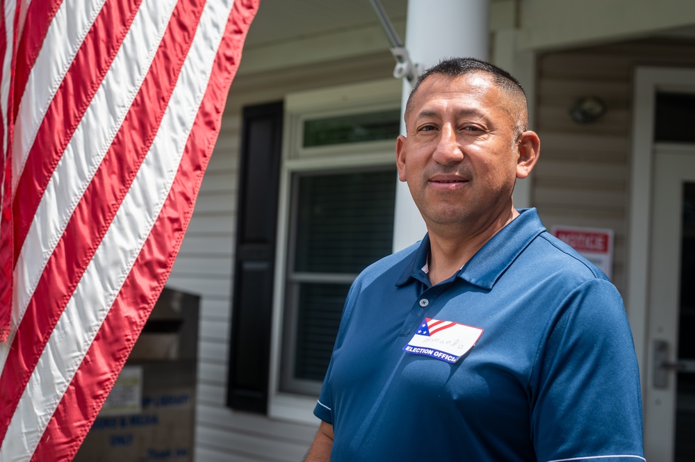 New Jersey Guardsmen assist Primary Elections