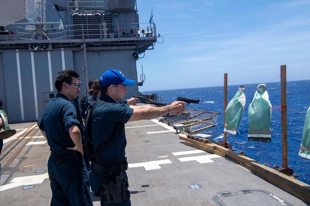 USS Shiloh CG 67 Underway June 5, 2021