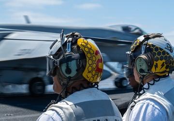 USS Carl Vinson Conducts Flight Operations