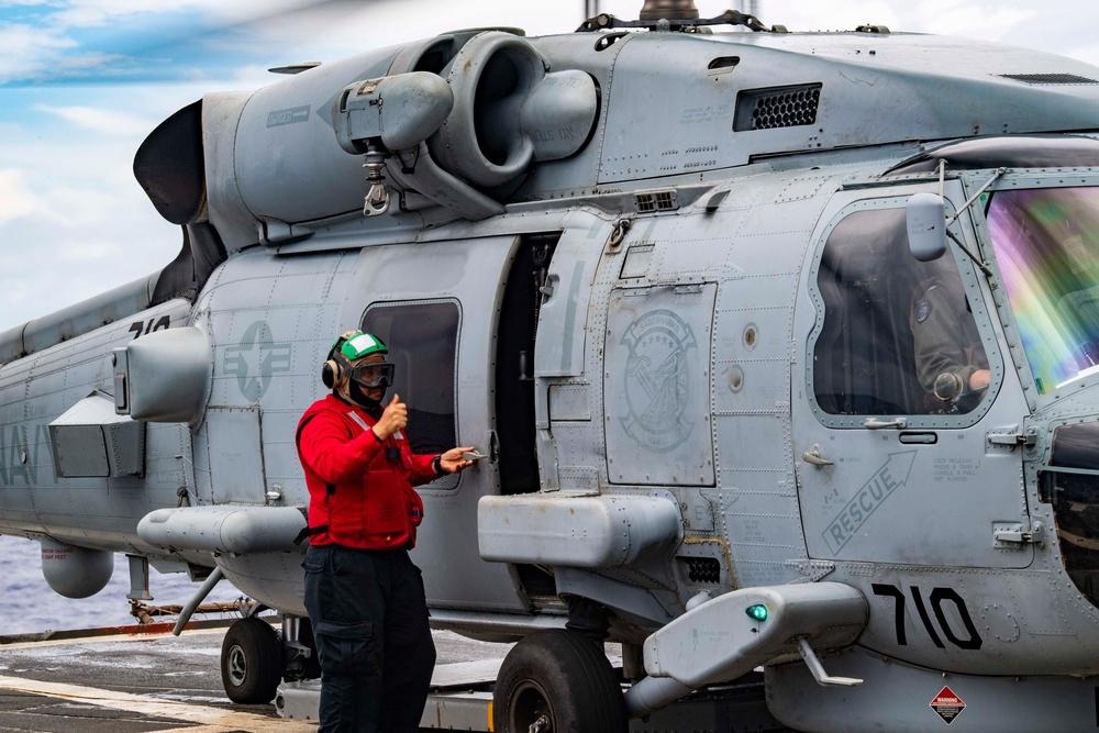 USS Shiloh CG 67 Underway June 7, 2021