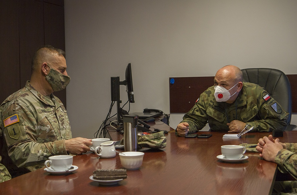 "Florida Guard and Polish army leadership become ""stronger together"""
