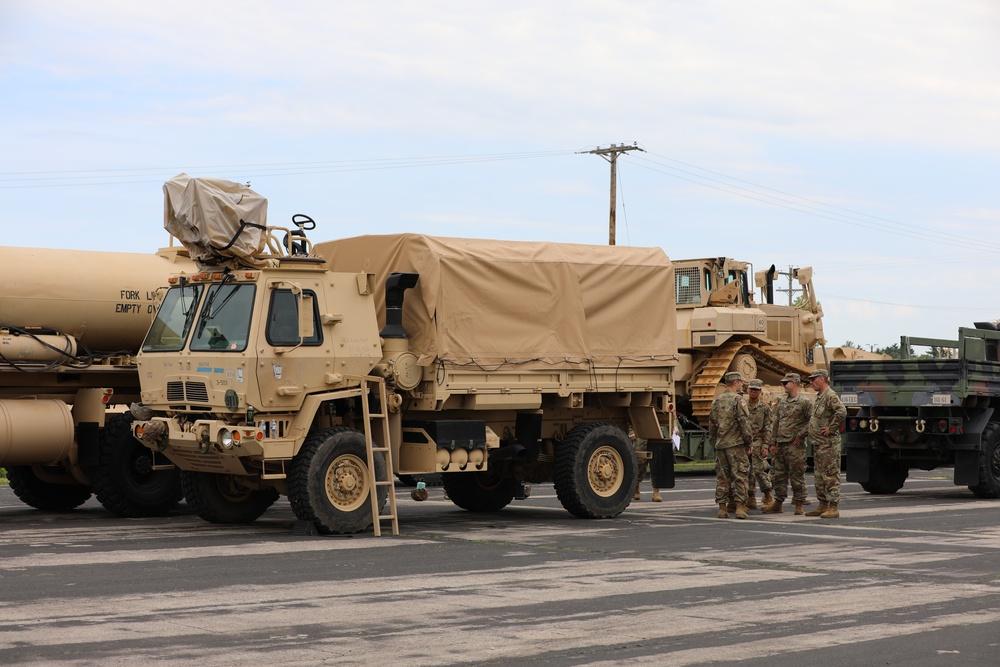 Engineers Conduct LOCB Convoy Operations
