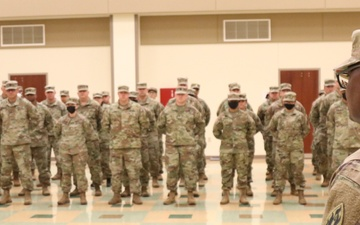 63rd Readiness Division's HHD changes command [Image 6 of 7]