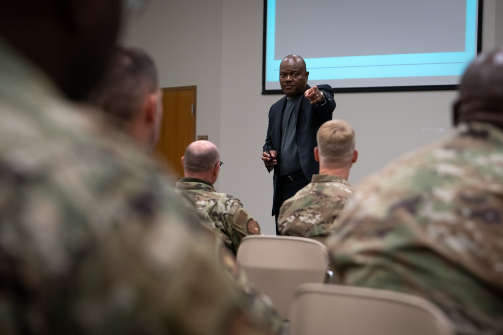 403rd Wing hosts AFRC chief Diversity & Inclusion Officer