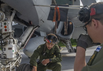 Marines conduct close air support training with Finnish Air Force