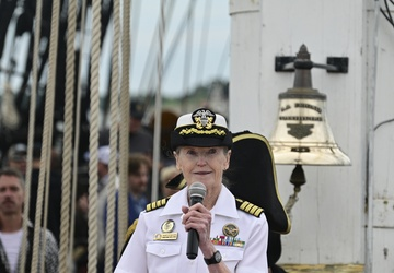 NTAG New England Medical Corps commissioning ceremony aboard the USS Constitution
