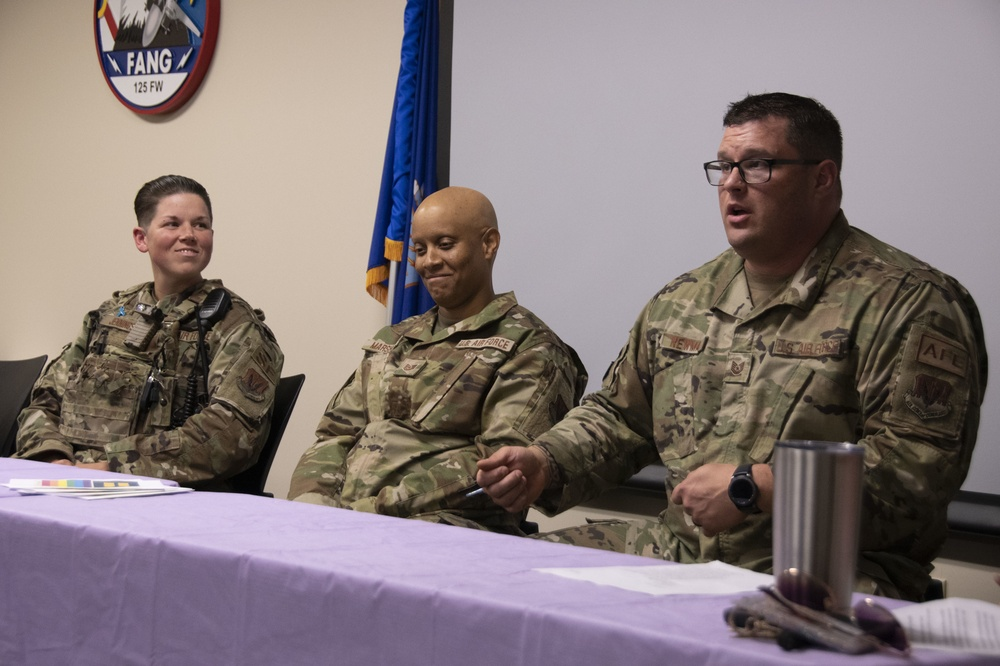 Airmen Embrace Diversity With Pride Panel
