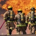 Firefighters heat up training at PATRIOT 21