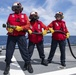 Damage Control Training Aboard USS Charleston (LCS 18)