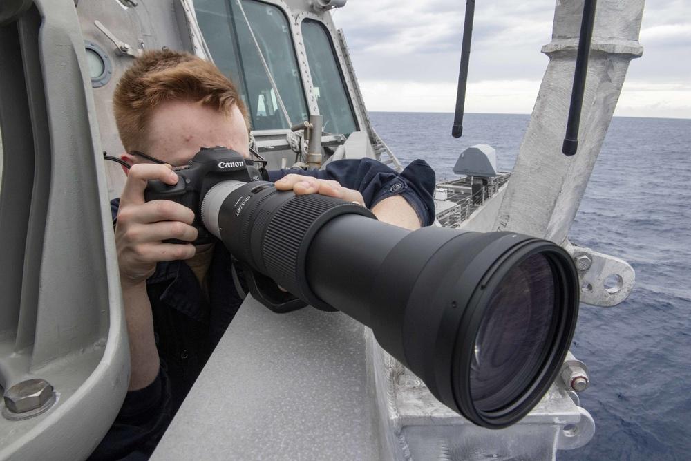 SNOOPIE Team Aboard USS Charleston (LCS 18)