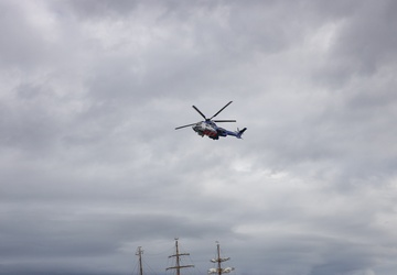 USCGC Eagle (WIX 327) arrives in Iceland