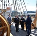USCGC Eagle (WIX 327) hosts officials in Iceland