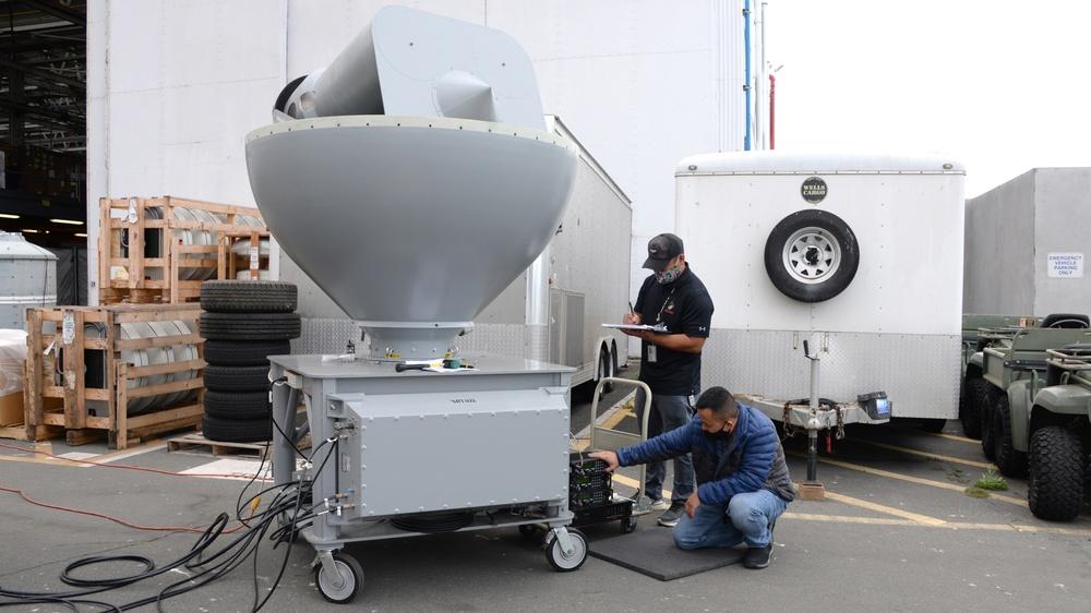 Antenna Maintenance at NAVWAR