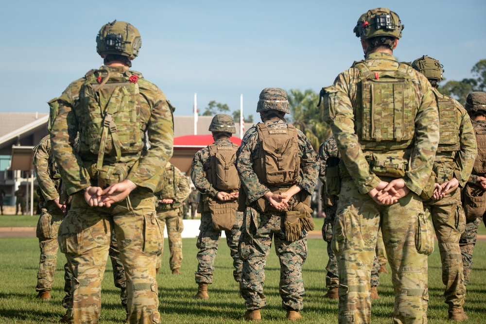 U.S. Marines, Australian Defence Force, and the Japanese Self-Defense Force
