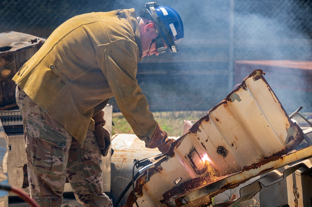 Firefighters conduct USAR training at PATRIOT 21