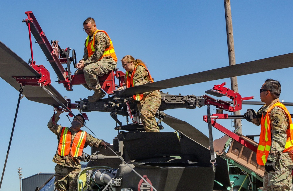 46th Aviation Support Battalion Conducts Port Operations