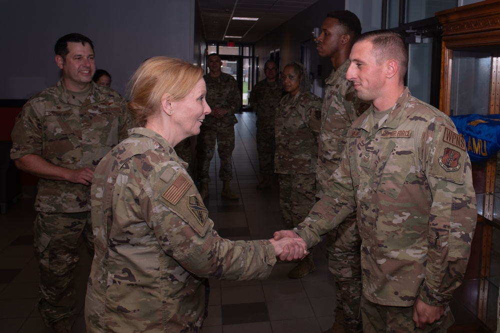 Brig. Gen. Lord visits 192nd Wing