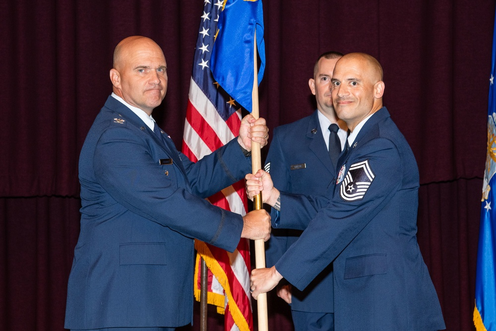 Noncommissioned Officer Academy Change of Leadership