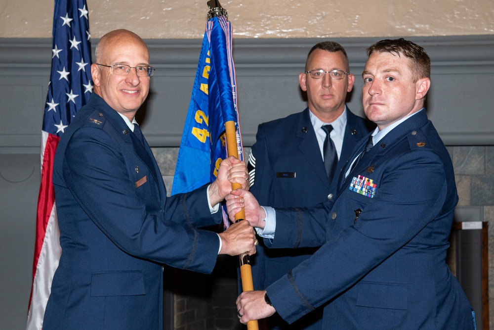 42nd Security Forces Squadron Change of Command