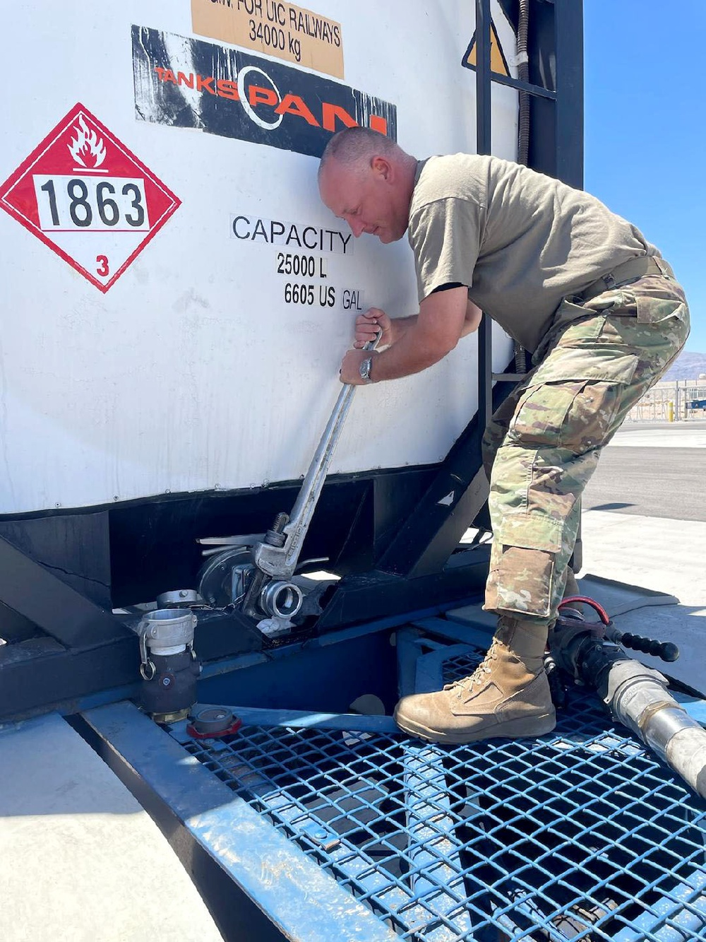 403rd LRS thrives at Nellis