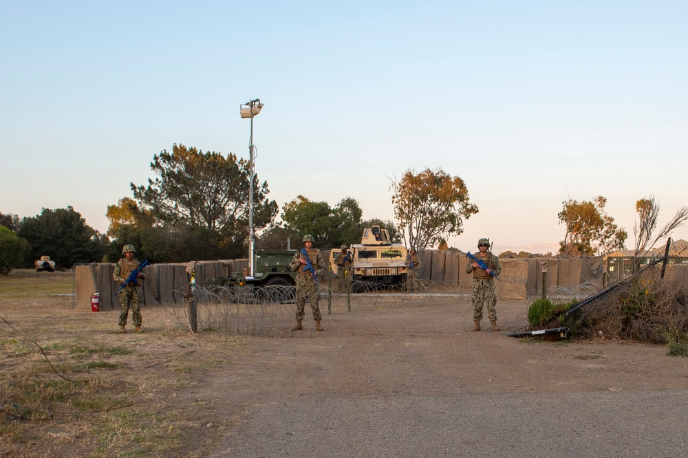NMCB-3 Seabees Stand Sentry Watch During CPX-4