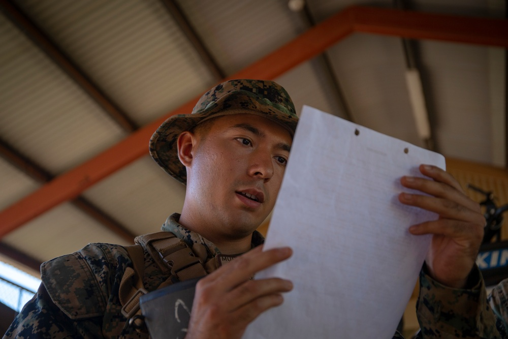 Exercise Darrandarra: evacuation control center