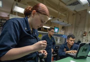 USS America conducts routine operations