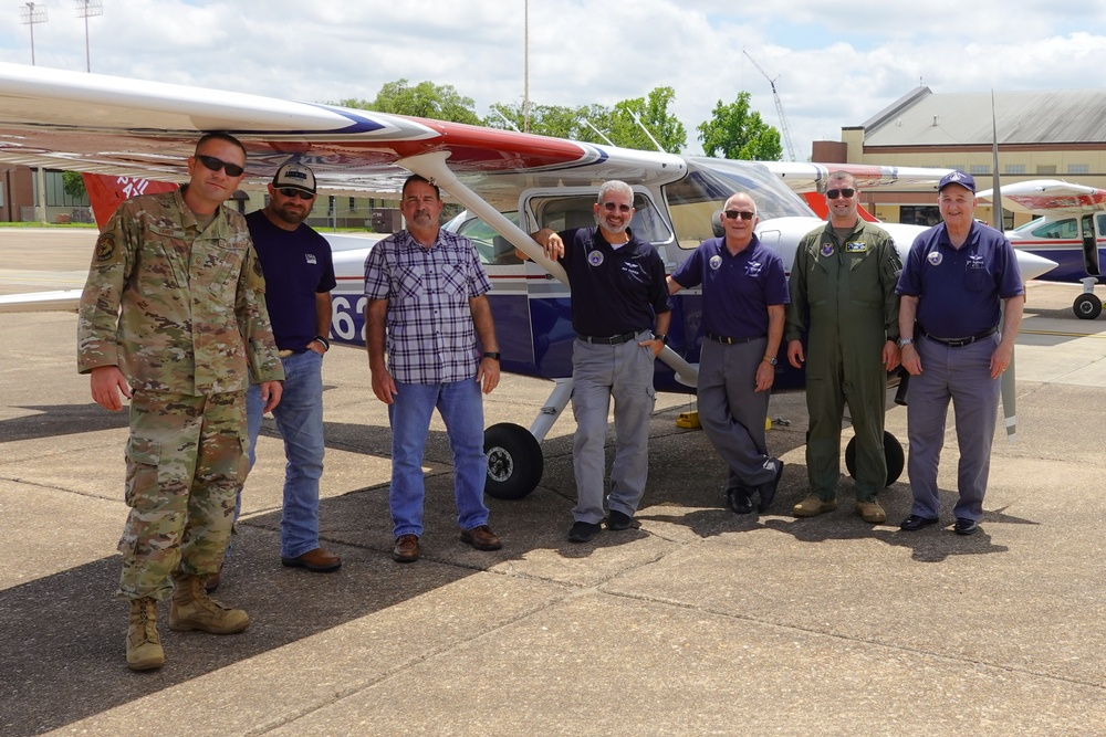 Barksdale and local Civil Air Patrol join forces for MACA training