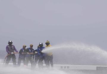 USS John P. Murtha (LPD 26) Training Underway
