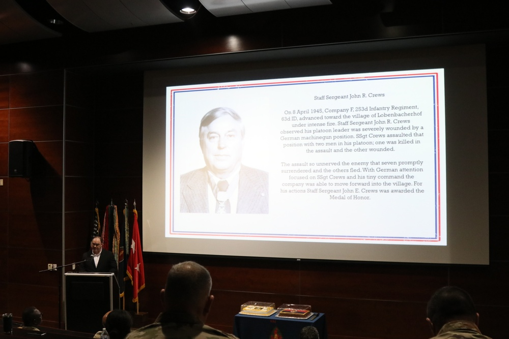 63rd Readiness Division HHD hosts first Army Heritage Day event