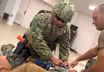 Camp Lemonnier First Responders Conduct Active Shooter Exercise to Sharpen Skills