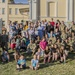 Deployed guardsmen visit local orphanage in Poland