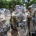 Miitary and civilian police train together during PATRIOT 21 at Fort McCoy