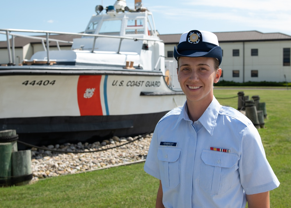 Seaman Katya Armbrecht earns Coast Guard Honor Graduate